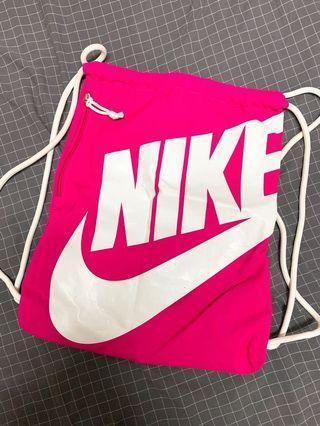 Nike束口後背包(粉色)