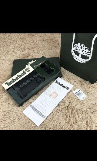Timberland wallet + key ring gift box