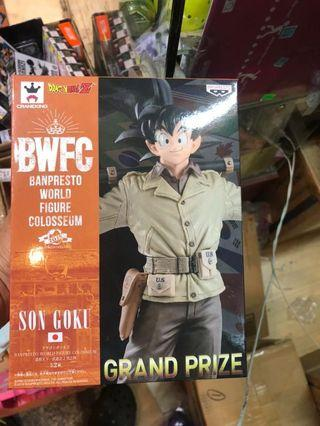 行版 Banpresto BWFC vol.4 軍服 孫悟空 龍珠 Dragon Ball 組立式景品
