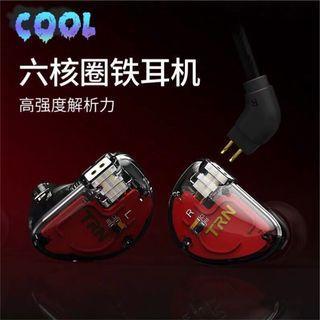😻最新6圈鐵單元可換線HiFi耳機