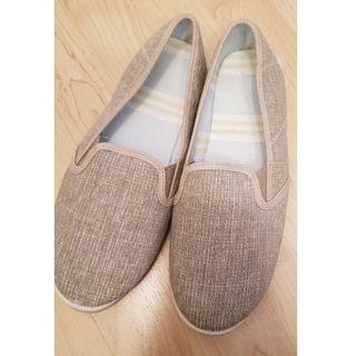 AVON Woven Slip-on Shoe (Beige)