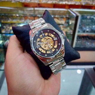 Rolex Automatic Jam Tangan Pria Otomatis/ tanpa baterai