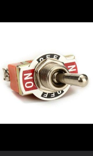 Wendao KN-1122 ON/OFF/ON 3 Pin Heavy Duty Switch