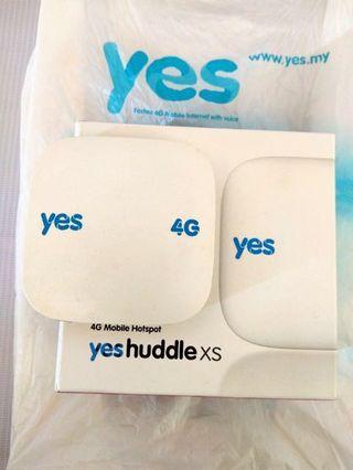 Yes 4g Wifi Huddle Portable Broadband (Fully Funtion)