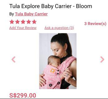 🚚 Baby Carrier Tula Explore - Bloom