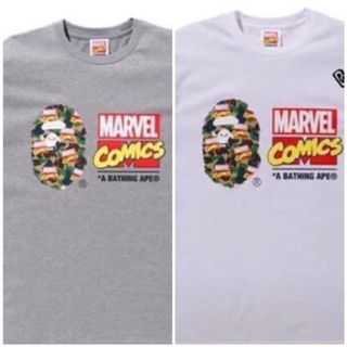 f1f0b193 BAPE MARVEL TEE , Men's Fashion, Clothes, Tops on Carousell