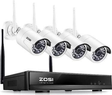 CCTV Taken by Supplier    Photo by Supplier    Photo by Supplier    ZOSI® 4CH 1080P HDMI Wifi NVR 2.0MP Security Camera System IR Outdoor Waterproof CCTV Camera Wireless Surveillance System