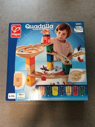 Hape Quadrilla Marble Run Construction