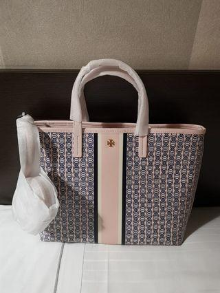 Authentic Brand New Tory Burch gemini link tote with long strap