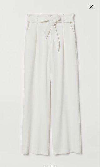 🚚 H and M paper bag pants trousers