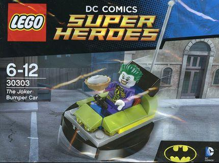 Lego 2015 DC Comics Super Heroes 30303 The Joker Bumper Car Polybag