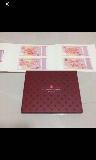 $115 - Singapore  SG50 Commemorative Notes