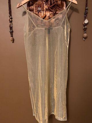 Gold Dress/Slip