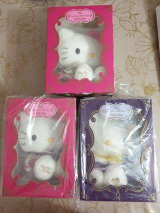 Linited Edition Crabtree & Evelyn Hello Kitty Dolls