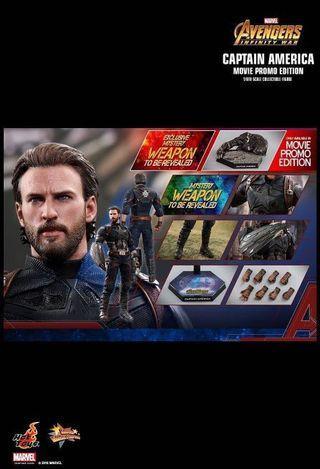 hottoys Captain America 美國隊長 復仇者聯盟 avengers Deluxe 特別版