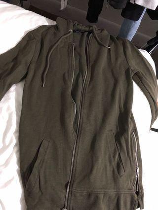 Forever 21 side zipper hoodie