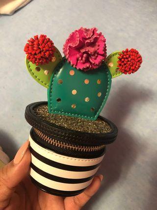 Kate Spade 3D Cactus Coin Purse
