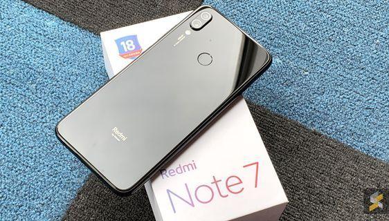 🚚 Redmi Note 7