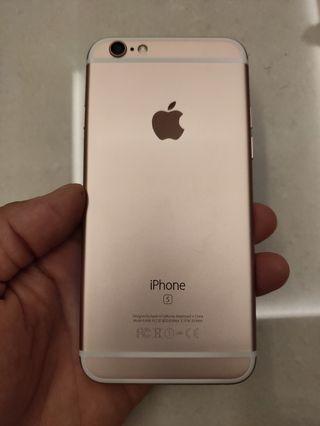 🚚 Iphone 6s rose gold 64gb