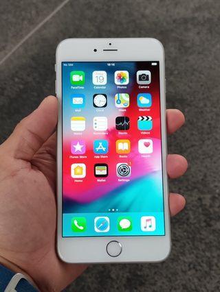 🚚 iPhone 6+ 64gb silver WhatsApp 84499406