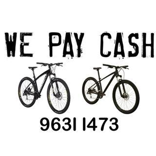 We Pay Cash to Buy New & Used Merida Marin Trek Cannondale Polygon Giant MTB, Mountain Bike & Bicycle