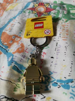 金色 Lego人仔匙扣 gold minifigure keyring