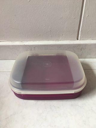 BN Tupperware container with lid