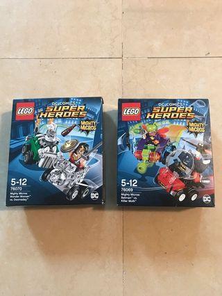Lego - 76069 & 76070