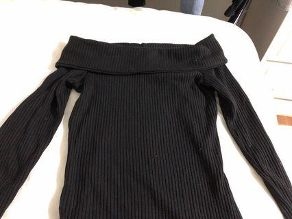 Abercrombie Off shoulder sweater