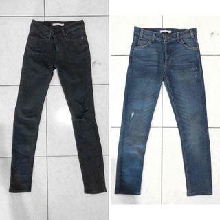 🚚 轉賣Levi's 721 高腰牛仔褲 26腰 橘標 2件