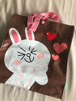 Line friends 環保袋