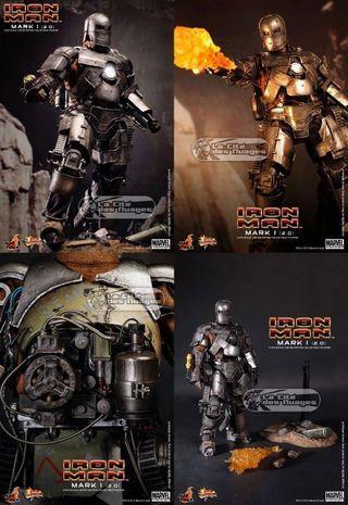 🚚 Hot toys Iron man mk1 ver 2