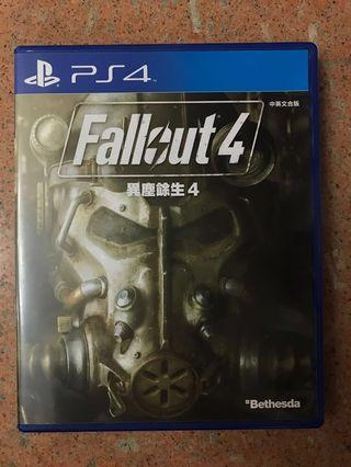 PS4 Game Fallout 4 異塵餘生4