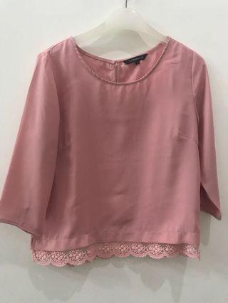 Connecxion Pink Blouse