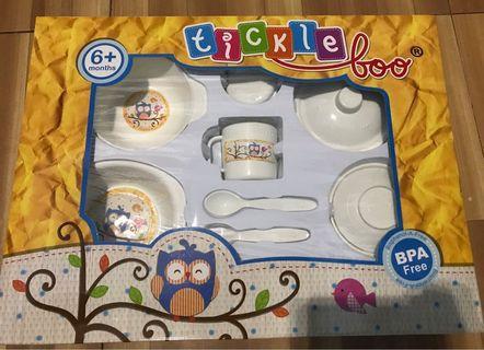 Tickle Boo Feeding Set