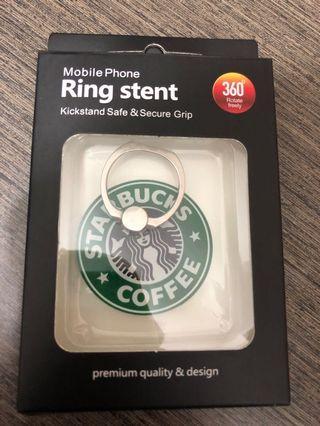 Starbucks 手機指環扣 Ring Stent