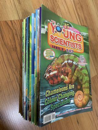 Young Scientist Level 3 Issue 123-142 (exclude Issue 124-125, 18 mags)
