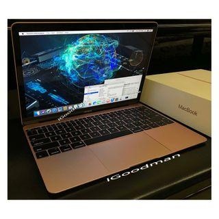 """Macbook 12"""" i7 16gb 512gb Max Spec CPU RAM SSD Apple 12 inch Retina Display Force Touch Trackpad USB-C Charger Full set with Box Like new !"""