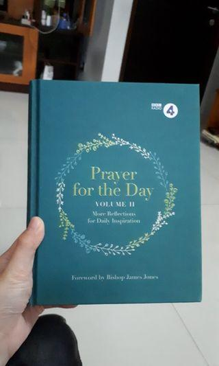 Prayer for the Day (buku doa/ renungan harian/ agama/ religion/ katolik/ kristen)