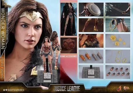 Hot Toys MMS451 Wonder Woman Deluxe Version (hottoys)