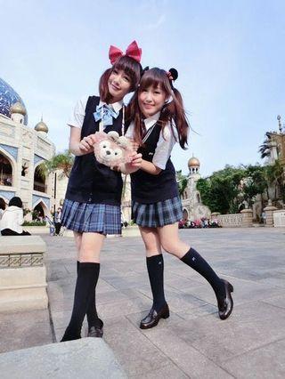 徵求 L碼日本女生校服恤衫