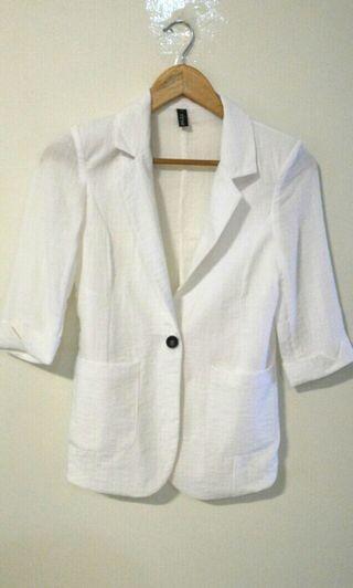 White Blazer (linen, thin)