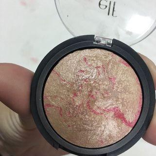 ELF baked brush 烘焙腮紅 烘培打亮 #pinkstatic