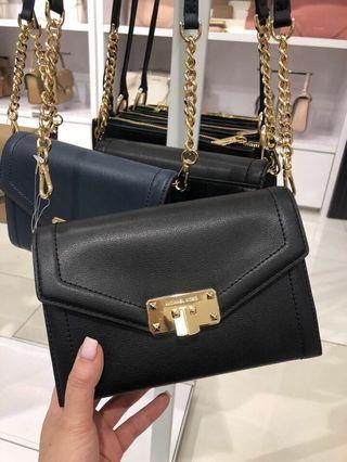 240- INSTOCK FOR MOTHER'S DAY! Michael Kors Kinsley Medium Wallet Crossbody Bag ☆AUTHENTIC☆