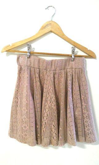 Tokyo Fashion skirt (camel brown, knit)