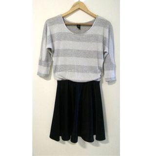 GG<5 dress (silver / black)