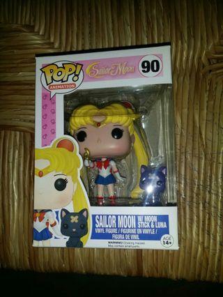 Funko POP ANIMATION FIGURE SAILOR MOON 90 特別版 SAILOR MOON & LUNA 美少女戰士 月野兔與露娜