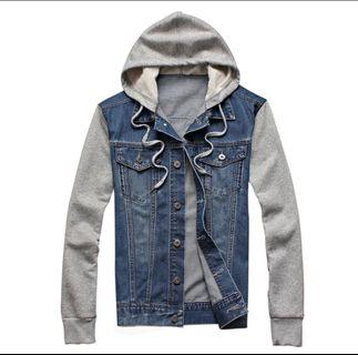 Denim Jacket style hooded