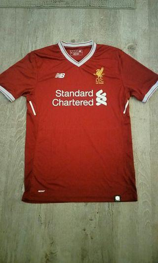544e11d27a2 LIVERPOOL FC HOME JERSEY AUTHENTIC NEW BALANCE LARGE