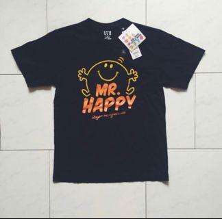 Uniqlo UT Mr. Happy Tee #mrthougang #mrtserangoon